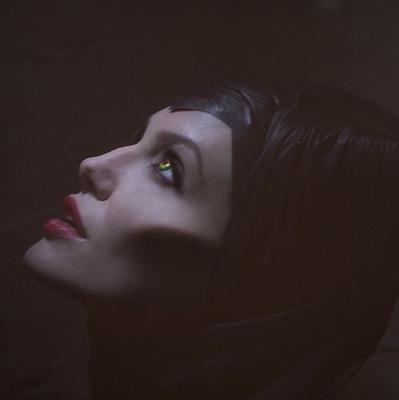 Angelina Jolie found it hard to say goodbye to her Maleficent horns