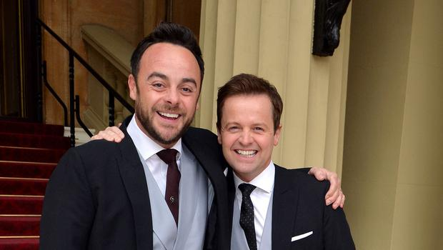 TV presenters Ant and Dec (John Stillwell/PA)