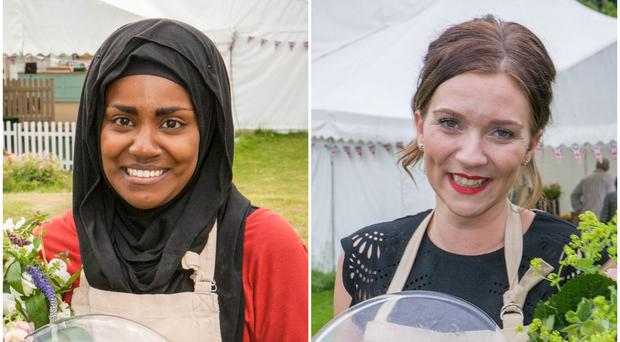 Nadiya Hussain and Candice Brown (Love Productions/BBC)
