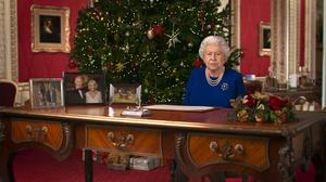 The deepfake version of the Queen (Channel 4)