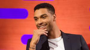 Bridgerton star Rege-Jean Page poked fun at his new-found heartthrob status as he made his Saturday Night Live hosting debut (Jonathan Hordle/PA)