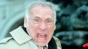 Hollywood producer and director Mel Brooks, who has been awarded a Fellowship by the British Film Institute