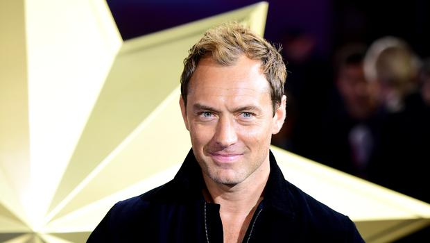 Jude Law features in the new Sky show (Ian West/PA)