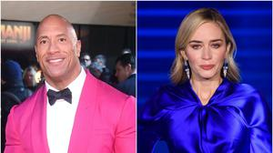 A superhero film starring Dwayne 'The Rock' Johnson and Emily Blunt as a warring married couple is set to arrive on Netflix (Matt Crossick/PA)