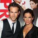 Sandra Bullock and Ryan Reynolds ahead of the release of The Proposal (Johnny Green/PA)