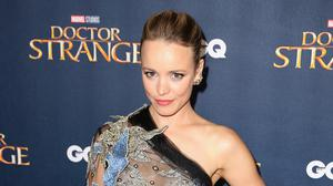 Rachel McAdams at the Doctor Strange UK launch at The Cloisters in Westminster Abbey