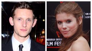 Jamie Bell and Kate Mara (PA)