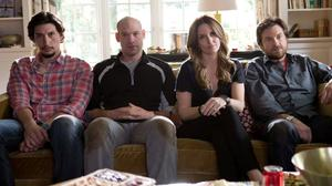 Adam Driver, Corey Stoll, Tina Fey and Jason Bateman star in This Is Where I Leave You (Warner Bros)