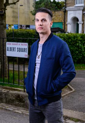 EastEnders actor Aaron Sidwell is leaving the soap (BBC)