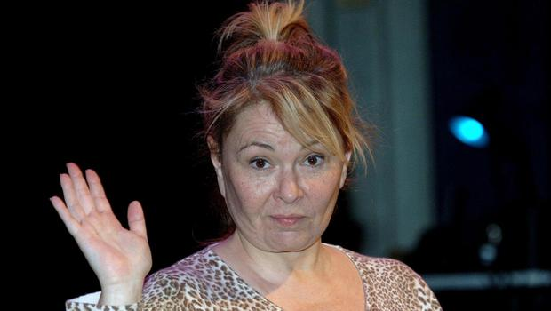 US actress and comedian Roseanne Barr, whose show has been cancelled following comments made about a former adviser to Barack Obama (Steve Parsons/PA)
