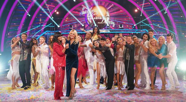 Strictly Come Dancing )(Kieron McCarron/BBC/PA)