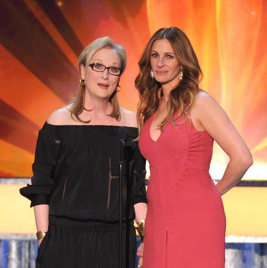 Meryl Streep and Julia Roberts did their own stunts in August: Osage County