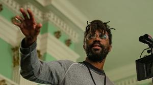 Shaka King, the director of Judas And The Black Messiah, said he hopes the film makes it clear the Black Panthers 'led with love' (Glen Wilson/Warner Bros/PA)