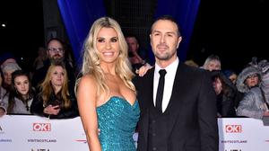 Christine and Paddy McGuinness have three children together (Matt Crossick/PA)