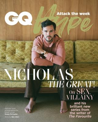 Nicholas Hoult on the cover of GQ Hype (Shane McCauley/GQ Hype)