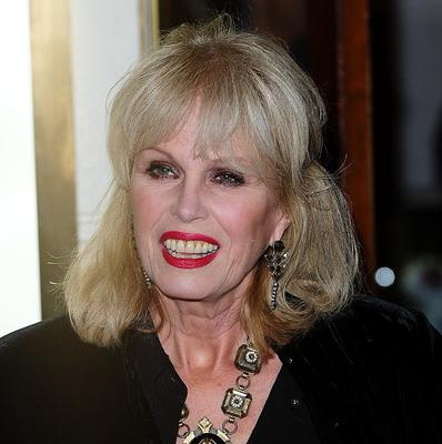 Joanna Lumley locks lips with Leonardo DiCaprio in their new movie
