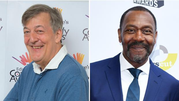 Sir Lenny Henry and Stephen Fry to face the Time Lord in Doctor Who (PA Wire/PA)
