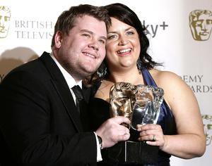 James Corden and Ruth Jones in 2007 (Yui Mok/PA)