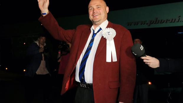 Al Murray went up against Ukip's Nigel Farage in the 2015 General Election (Gareth Fuller/PA)