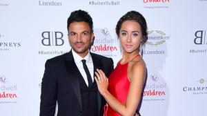 Peter Andre and Emily MacDonagh have had to make big adjustments (Ian West/PA)