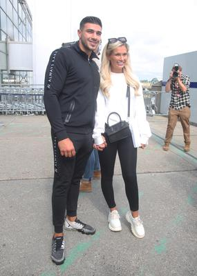 Love Island runners up Tommy Fury and Molly Mae Hague (Yui Mok/PA)
