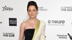 Rose McGowan has reacted to Harvey Weinstein's indictment on rape and criminal sex act charges in New York (PA)