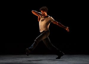 Acosta performing Premieres at the Coliseum in central London (Yui Mok/PA)