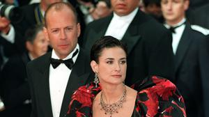 Bruce Willis and Demi Moore (Neil Munns/PA)