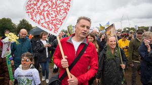 Chris Packham will explore the dangers of global overpopulation in a new programme (Dominic Lipinski/PA)
