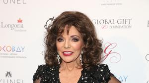 Dame Joan Collins has paid tribute to her sister Jackie on what would have been her 81st birthday (Isabel Infantes/PA)