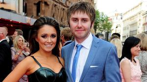 James Buckley and his wife Clair have two young sons