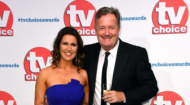 Dan Walker apologises over Susanna Reid comments about Piers Morgan rivalry (Matt Crossick/PA)