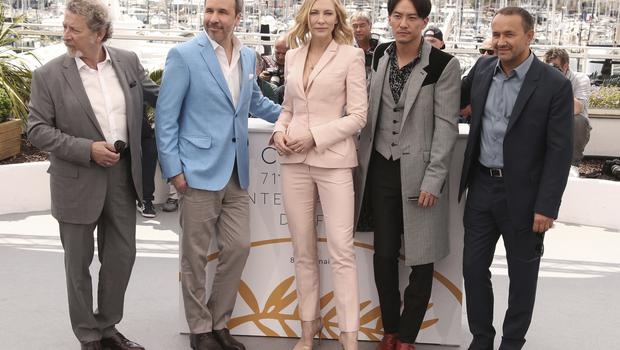France Cannes 2018 Jury Photo Call