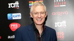 Jeremy Vine's show went ahead without a live audience (Lia Toby/PA)