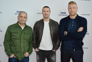 Top Gear presenters (left to right) Chris Harris, Paddy McGuinness and Freddie Flintoff have unveiled their cars of the year (Rob Cable/BBC/PA)