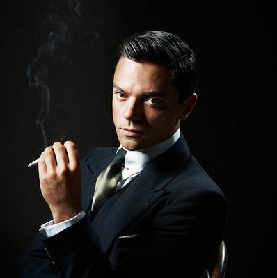 Dominic Cooper plays the title role in Fleming
