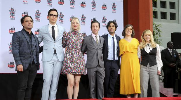 The cast of The Big Bang Theory (Willy Sanjuan/Invision/AP)
