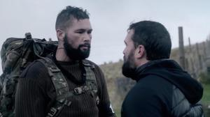 Tony Bellew and Ant Middleton face off in the fourth episode of Celebrity SAS: Who Dares Wins (Channel 4).