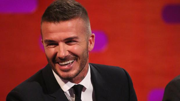 David Beckham appeared on the Graham Norton Show (PA Images on behalf of So TV)