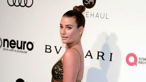 Meal-kit brand HelloFresh said it has 'ended our partnership' with former Glee actress Lea Michele (Billy Benight/PA)