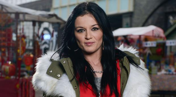 Former EastEnders star Katie Jarvis said she will pursue acting 'for the rest of my life' (Kieron McCarron/BBC)