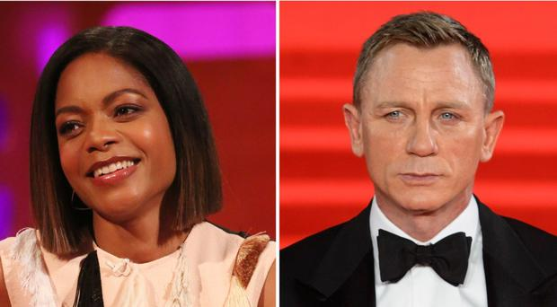 Naomie Harris has spoken to GQ Hype about the upcoming Bond film (PA)