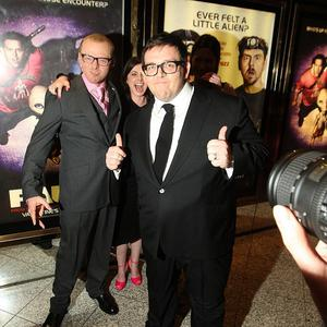 Simon Pegg and Nick Frost will voice characters in The Boxtrolls