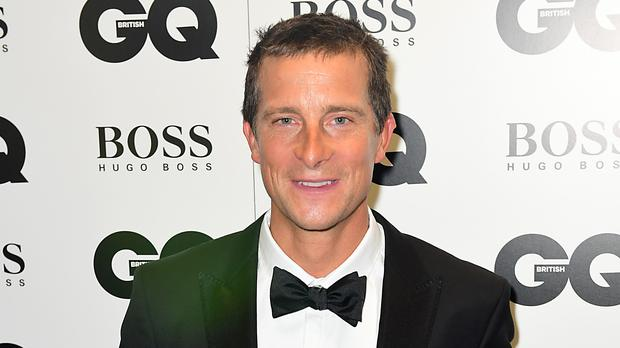 Bear Grylls shared photos of his back on Instagram (Ian West/PA)