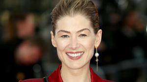 Rosamund Pike at the premiere of Radioactive (Lauren Hurley/PA)