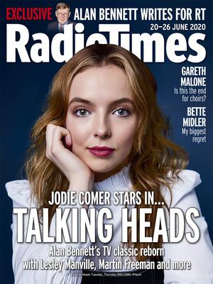Killing Eve star Jodie Comer has revealed fellow Liverpudlian Stephen Graham convinced her not to lose her Scouse accent (Radio Times/PA)