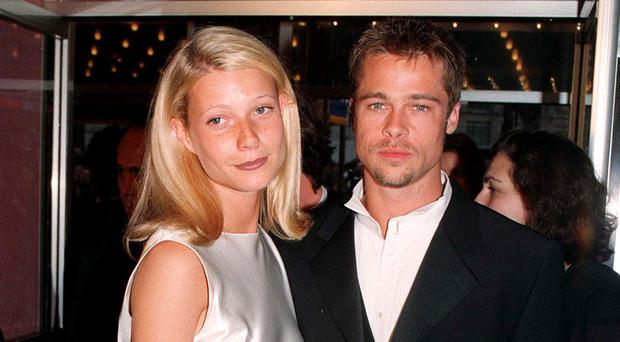 Paltrow and Pitt separated in 1997 (PA)