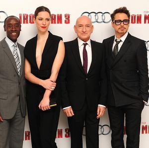 Iron Man 3 - starring Don Cheadle, Rebecca Hall, Sir Ben Kingsley and Robert Downey Jr - is the biggest grossing film of 2013