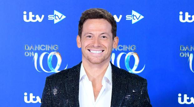Joe Swash attending the launch of Dancing On Ice 2020 (Ian West/PA)