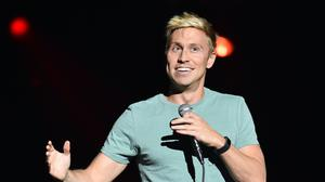 Russell Howard helped to set the new world record (PA)